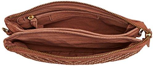 Petite Mendigote BRIXTON, Borsa a Tracolla Donna, 3x17x23.5 cm (W x H x L) Marrone chiaro
