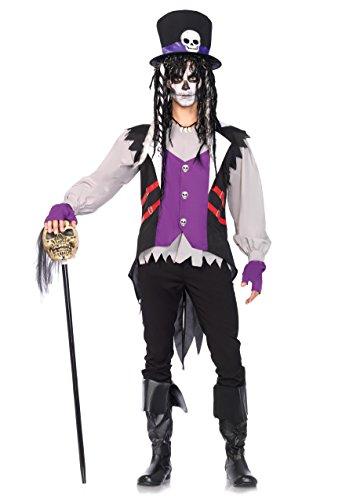 Leg Avenue 85507 - Voodoo Priester Kostüm, Größe XL
