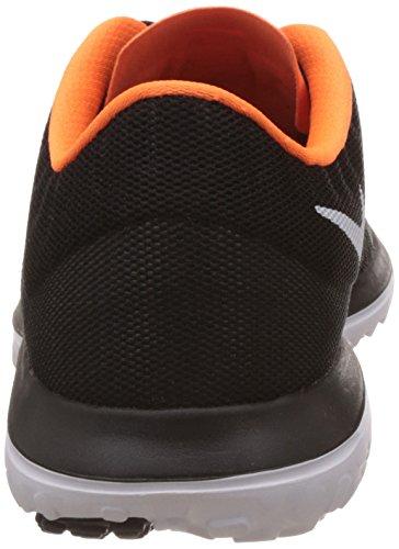 Nike Men's FS Lite 2 Running-Shoes Black/White/Total Orange