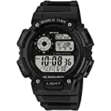 SETIST Dummy World Time Sports Digital Dial Men's Watch with Water Resistant, Alarm, Stopwatch, LED Light