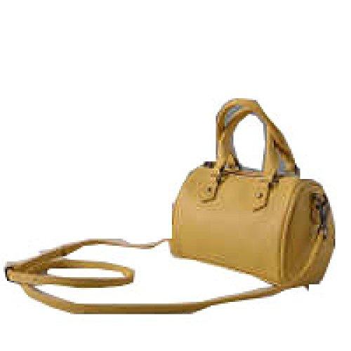 Borse In Pelle PACK Borse Messenger Simple Messenger Bags Borse Portable,B:Gray C:Yellow