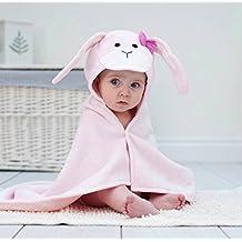 Bathing Bunnies fiocco rosa coniglietto (Bunny Hood)