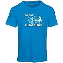 N4318F Camiseta mujer No me juzgues ...