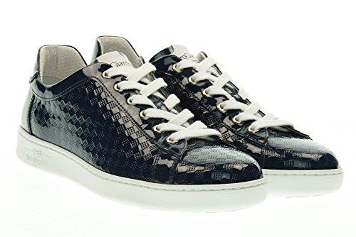 NERO GIARDINI scarpe donna sneakers basse P717253D/208 Blu
