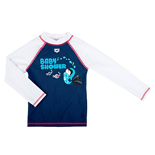 Arena Water Tribe UV T Shirt Maniche Lunghe, blu, 1/2 ans