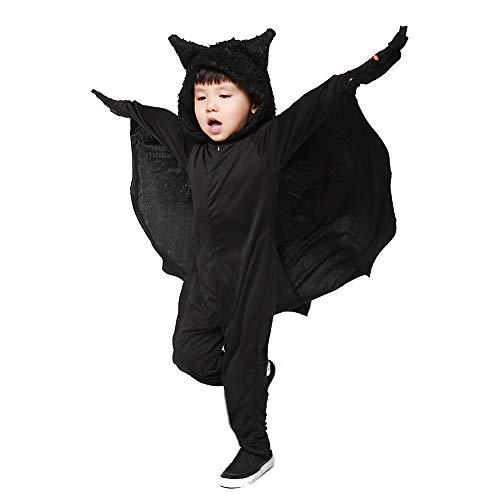 CFByxr Halloween Kostüme - Die Ganze Familie Erwachsenenanzug + Kinderanzug Onesies Bat Flügel Für Cosplay Party Maskerade Kleidung (s-XXXL)