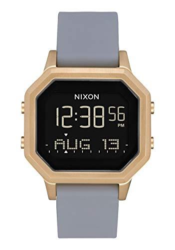 Nixon Reloj Mujer de Digital con Correa en Silicona A1211-3163-00