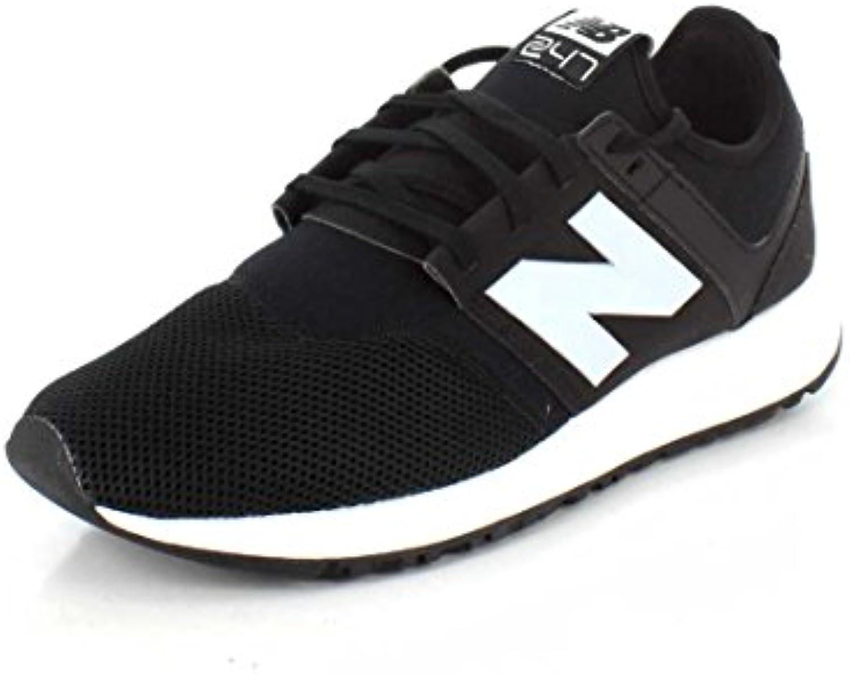 New Balance - Zapatillas de Material Sintético para hombre negro negro/gris