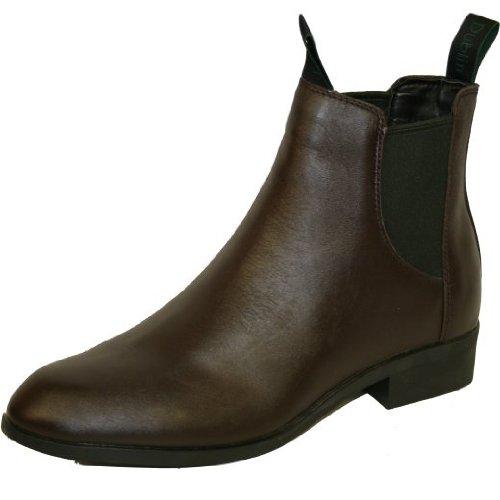 Dublin Resolute Boots Jodhpur-Tailles UK6 à (38) Marron - Marron foncé