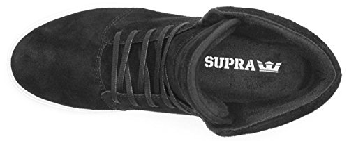 Supra Camino Hommes Trainers Noir