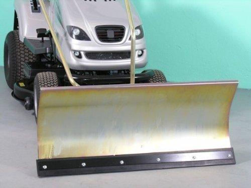 FAGA AGS 125/102S verzinktes Komfort-Schneeschild 118x50 cm für Rasentraktore ID 2188
