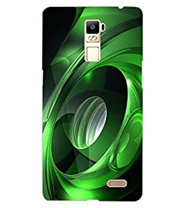 ColourCraft Abstract Image Design Back Case Cover for OPPO R7