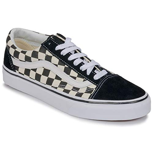 Vans Unisex Primary Check Old Skool Sneaker Schuh VN0A38G1P0S Black/White 40