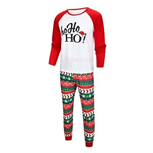 Vater Xmas Outfits - Likecrazy Weihnachten Familie Kleidung Zweiteiliger Schlafanzug