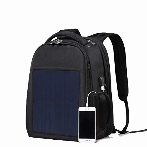 GYBY Solar-Rucksack, solarbetriebener Rucksack, Diebstahlschutz, wasserdicht, mit USB-Ladegerät, multifunktionaler Laptop-Rucksack - Gucci Canvas-notebook