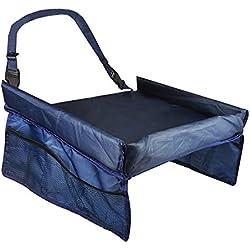 zanasta mesa bandeja infantil para auto asiento infantil para reproductor de viaje Juego mesa/Comedor, Azul