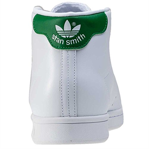 adidas Originals Stan Smith Mid, Chaussures Montantes Homme, 38 EU Blanc