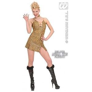 WIDMANN Desconocido Sexy vestido de leopardo de traje| talla L