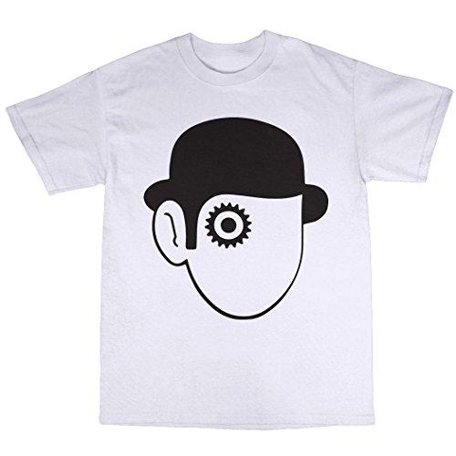 Clockwork Orange Tribute T-Shirt 100% Baumwolle Weiß