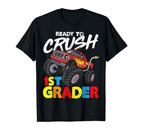 rader Monster Truck Back To School Gesch T-Shirt ()