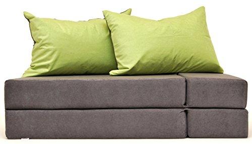 welox Sp. Zoo Multifunktion 3in1Für Kinder, Sofa-Matratze aus Schaumstoff, ideal für das sleepovers, 200x 80cm a1