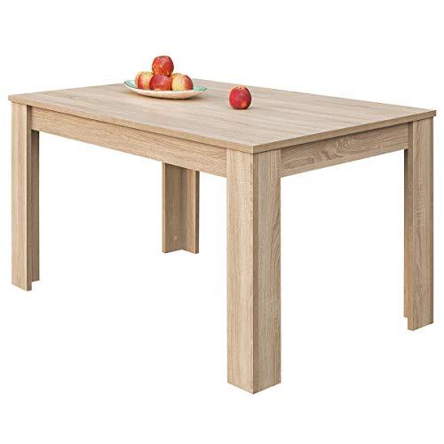 COMIFORT - Mesa De Comedor Extensible Moderna de 120 a 170 cm,...