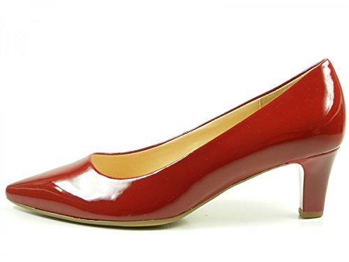 5cf1e954224316 Gabor 71250 Schuhe Damen Pumps Weite F Lack Rot - villa-casale.de ...
