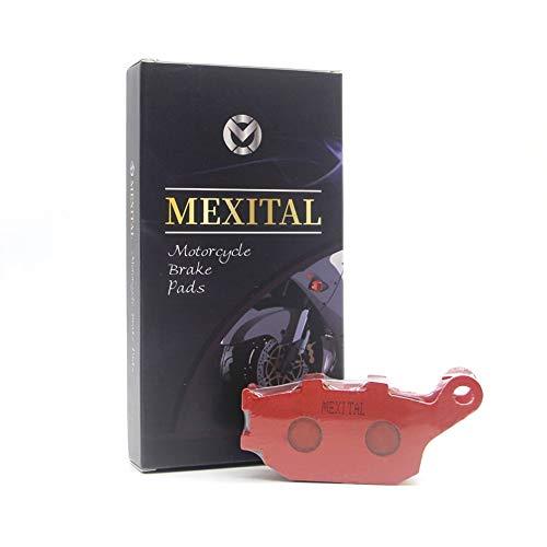 MEXITAL Pastiglie freno Ceramica organico Posteriore per YamahaMT-07 FZ-07 (689cc) (2014-2018)
