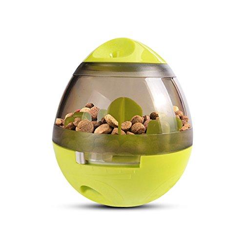 PETCUTE Bola de comida para perros, juguetes interactivos para perros Juguete bola para perros Dispensador de comida para perros Juegos de alimentación para perros pequeños y medianos grandes Perros y gatos