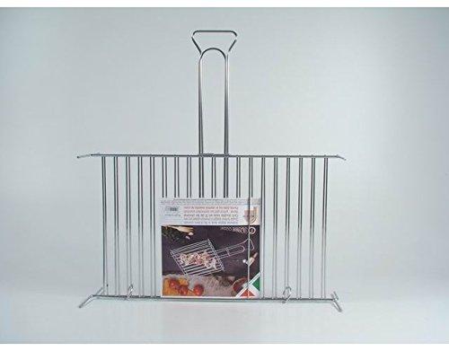 graticola-griglia-barbecue-cromata-liscia-b19-per-arrosto-carne-alla-brace