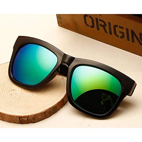 GJYANJING Sonnenbrille Classic Square Frame Sonnenbrille Frauen Candy Farbe Vintage Sonnenbrille Fahren Uv400 Gläser
