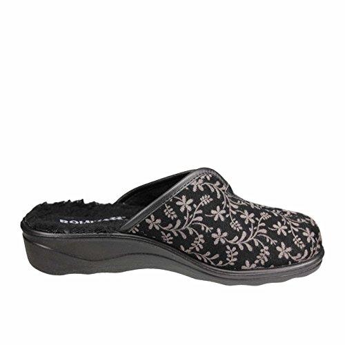 Romika 67364-PL70-710 Romisana 364, Pantofole donna Schwarz Kombi
