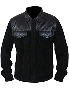 Leatherly Chaqueta de hombre Fast And Furious 6 Premier Vin Diesel Cuero Chaqueta
