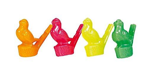 Vogelpfeifen, 24er Set, Mitgebsel Kindergeburtstag, Goki, Kunststoff ()