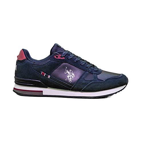U.S. Polo Assn. WILDE2, Sneaker Uomo, Blu (Dk Bl 002), 40 EU