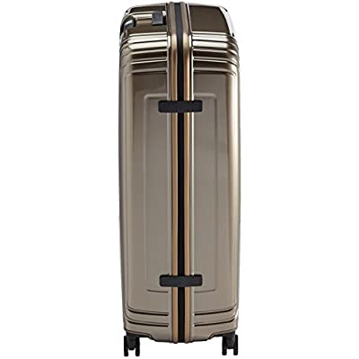 Samsonite Neopulse Suitcase 4 Wheel Spinner 81cm Metallic Sand - suitcases
