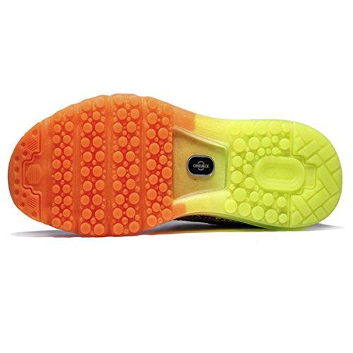 Scarpe sportive paio uomini e donne scarpe da tennis cuscino scarpe da corsa leggera primavera imbottitura traspirante e l'estate Verde