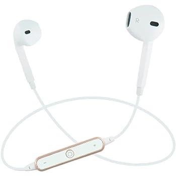 UKCOCO Auriculares inalámbricos con auriculares Bluetooth Auriculares intrauditivos Auriculares ergonómicos estéreos para entrenamientos deportivos de ...