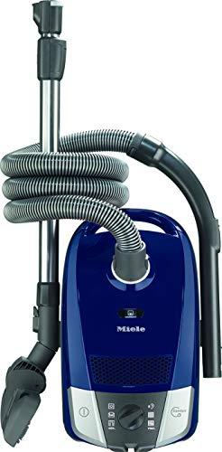 Miele 10886650, Compact C2 Powerline Bodenstaubsauger mit Beutel, 890 Watt Leistung und 11 m Aktionsradius/dreiteiliges Zubehör/kompakter, Leichter Staubsauger/blau, Marineblau