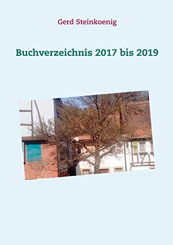 Buchverzeichnis 2017 bis 2019