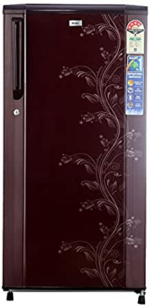 Haier 181 L 4 Star Direct-Cool Single Door Refrigerator (HRD-2015CRO-H, Red Orchid)