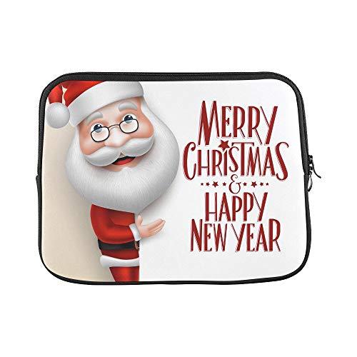 (YSJXIM Design benutzerdefinierte 3 d realistische weihnachtsmann Cartoon Charakter hülse weiche Laptop Tasche Tasche Haut für air 11