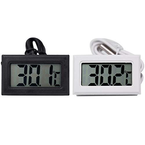 Termómetro digital LCD Medidor temperatura Sonda