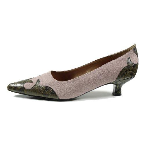 Ornela Brenti 33044-671 Damen Schuhe Premium Qualität Western Pumps Pink (Rosa)