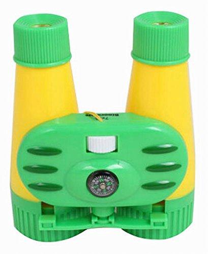 Kinder Spielzeug Binocular Telescope Außen pädagogisches Spielzeug Gelb