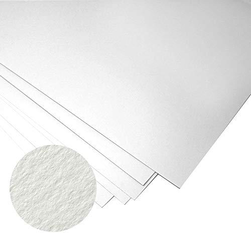 Fabriano Unica - Kunstdruckpapier - 50 {059939c7c9063847d4a7d9aa2bba0c9e446723d28af7651e33cab67b47b835e0} Baumwolle - ideal für Drucke - 50 x 70 cm - 10 Blatt mit 250 g/m² - Weiß