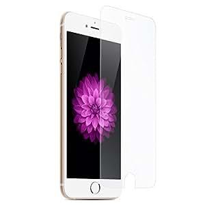 """R&S® *****OFFRE DUO IPHONE 6/6S VERRE TREMPE FILM INCASSABLE Film Protection d'écran en Verre Trempé 0,26mm INRAYABLE et ULTRA RÉSISTANT INDICE Dureté 9H Haute transparence pour iPhone 6 (4,7"""") & COQUE EN SILICONE Ultra-Fine Housse Etui TPU Gel Silicone SEMI RIGIDE *****"""