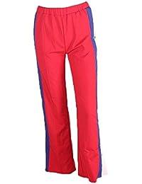 Primavera Verano Mujer Elegantes Moda Pantalones De Cintura Alta Elastische  Taille Anchos Abiertas Remache Rayas Verticales 2b482195a6fb