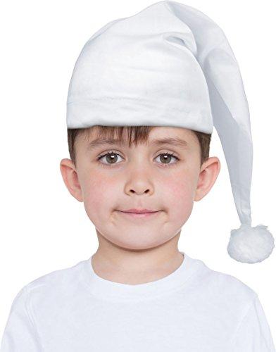 (Kinder Kinder Kostüm Viktorianisch Geizhals Nachthaube Wee Willie Winky christmashut)