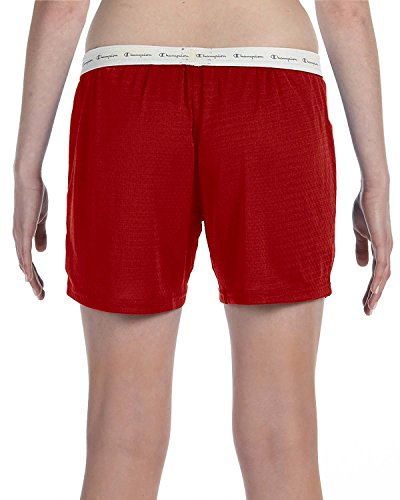 Champion Ladies' Active Mesh Shorts in Scarlet - XX-Large (Mesh Champion Short Active)